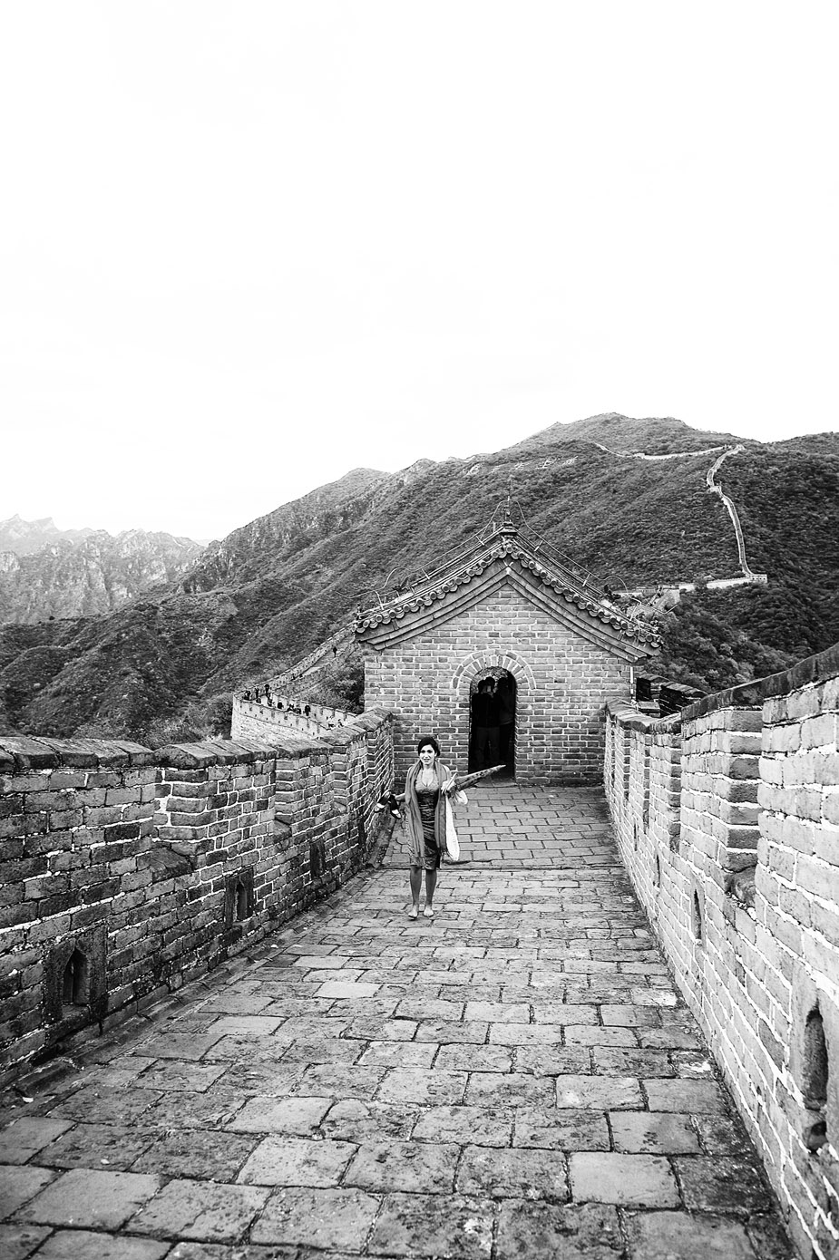 China destination wedding | Mutianyu great wall