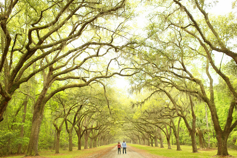 Savannah Engagement Shoot - from Wormsloe to Tybee, to River